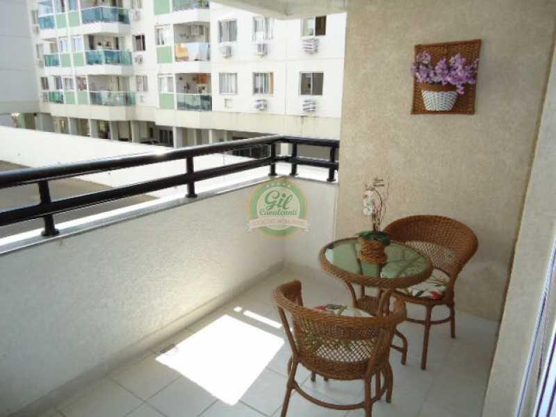Varanda - Apartamento Taquara,Rio de Janeiro,RJ À Venda,3 Quartos,72m² - AP1100 - 5