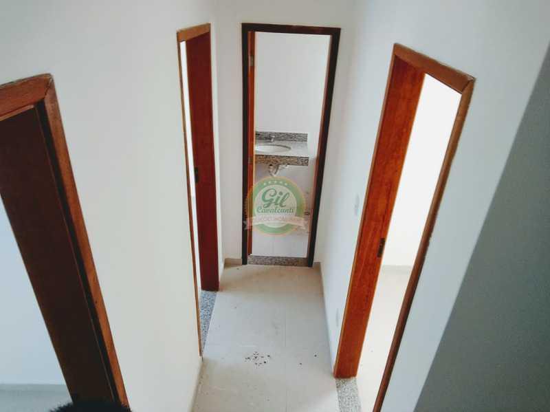 Corredor - Casa em Condominio À VENDA, Taquara, Rio de Janeiro, RJ - CS1669 - 15