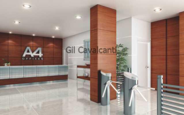 Hall de Acesso - Imagem ilustr - Sala Comercial Recreio dos Bandeirantes,Rio de Janeiro,RJ À Venda,21m² - CM0068 - 3