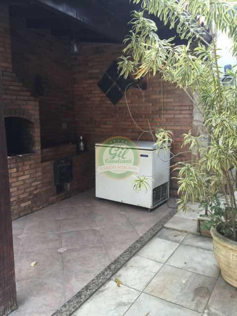 Churrasqueira  - Casa 3 quartos à venda Jacarepaguá, Rio de Janeiro - R$ 880.000 - CS1846 - 24