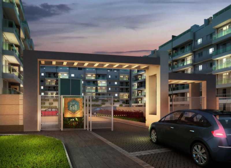 lancamento-mares-de-goa-reside - Apartamento 1 quarto à venda Vargem Grande, Rio de Janeiro - R$ 379.000 - LA0004 - 1