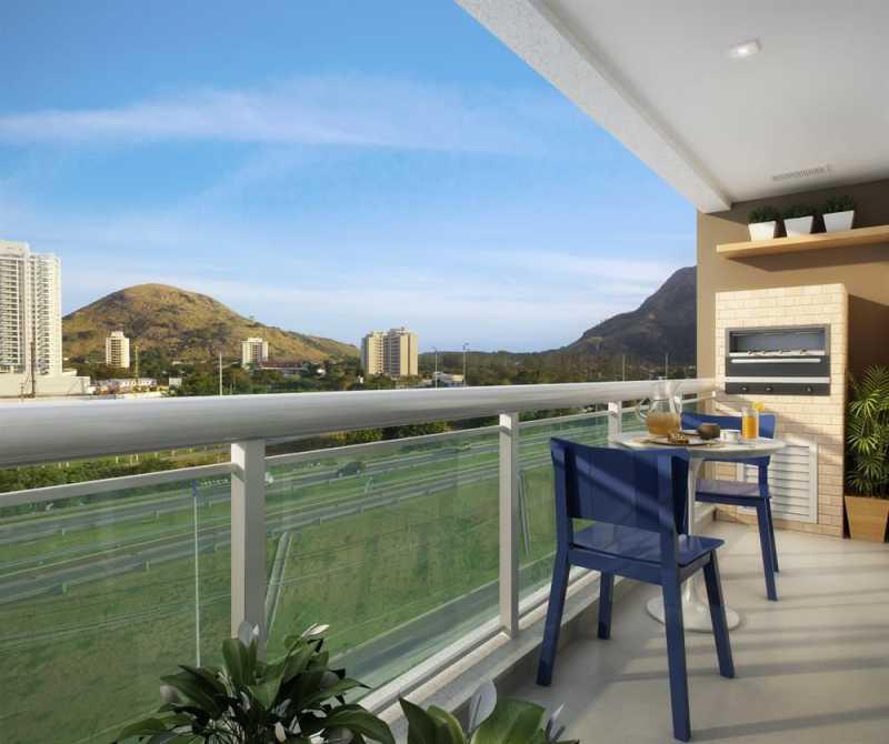 lancamento-mares-de-goa-reside - Apartamento 1 quarto à venda Vargem Grande, Rio de Janeiro - R$ 379.000 - LA0004 - 14