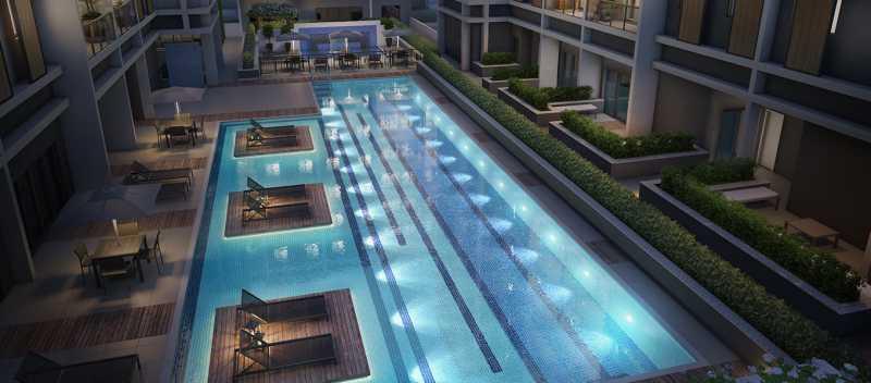 brise_jacarepagua_piscina - Apartamento 2 quartos à venda Tanque, Rio de Janeiro - R$ 341.187 - LA0007 - 3