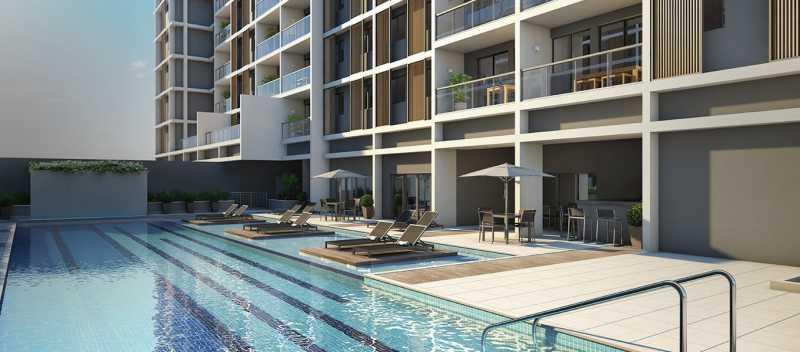 brise_jacarepagua_piscina-adul - Apartamento 2 quartos à venda Tanque, Rio de Janeiro - R$ 341.187 - LA0007 - 5