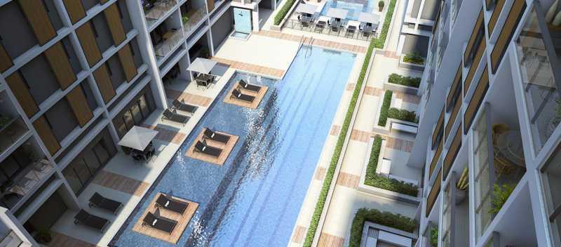 brise_jacarepagua_piscina-diur - Apartamento 2 quartos à venda Tanque, Rio de Janeiro - R$ 341.187 - LA0007 - 6