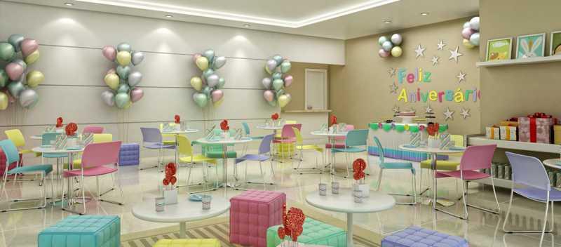 brise_jacarepagua_salao-infant - Apartamento 2 quartos à venda Tanque, Rio de Janeiro - R$ 341.187 - LA0007 - 14