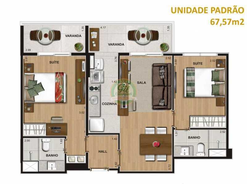 14167_g - Apartamento Curicica,Rio de Janeiro,RJ À Venda,2 Quartos,67m² - LA0021 - 14