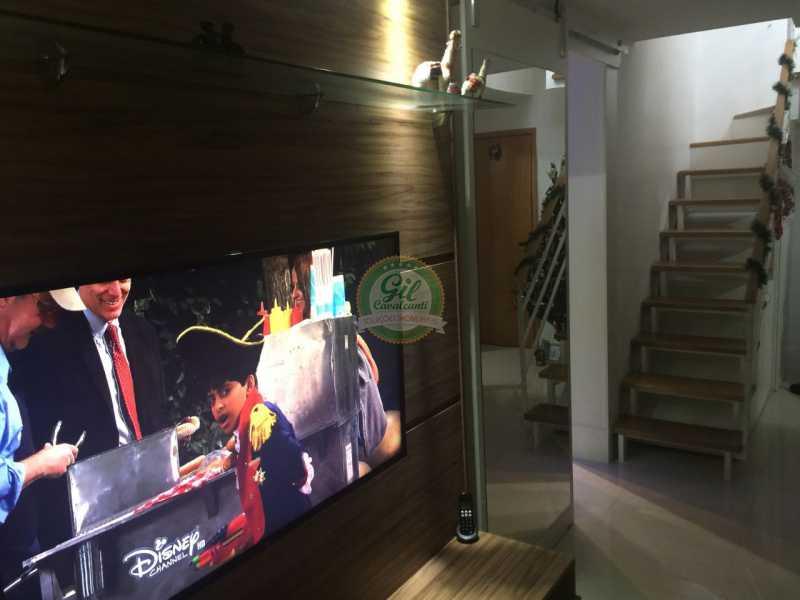 Sala  - Cobertura 2 quartos à venda Pechincha, Rio de Janeiro - R$ 535.000 - CB0177 - 5