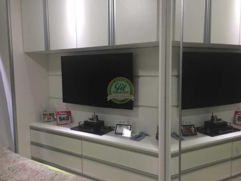 Quarto - Cobertura 2 quartos à venda Pechincha, Rio de Janeiro - R$ 535.000 - CB0177 - 17