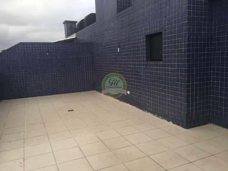 Terraço  - Cobertura 2 quartos à venda Pechincha, Rio de Janeiro - R$ 535.000 - CB0177 - 22
