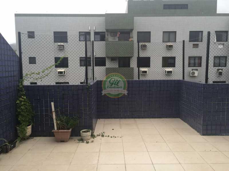 Terraço  - Cobertura 2 quartos à venda Pechincha, Rio de Janeiro - R$ 535.000 - CB0177 - 21