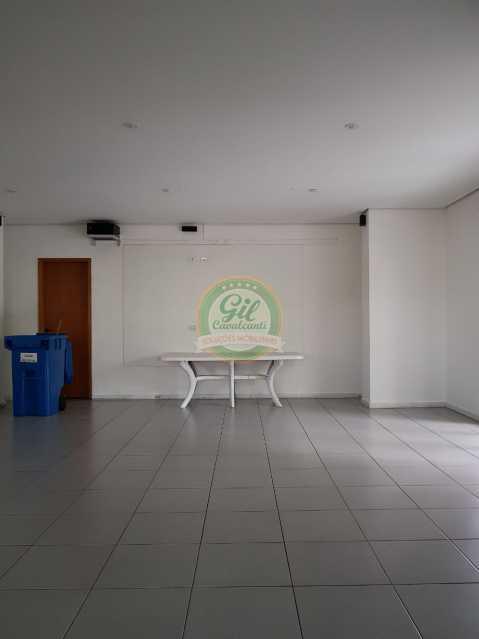 Salão de festas - Cobertura 2 quartos à venda Pechincha, Rio de Janeiro - R$ 535.000 - CB0177 - 26