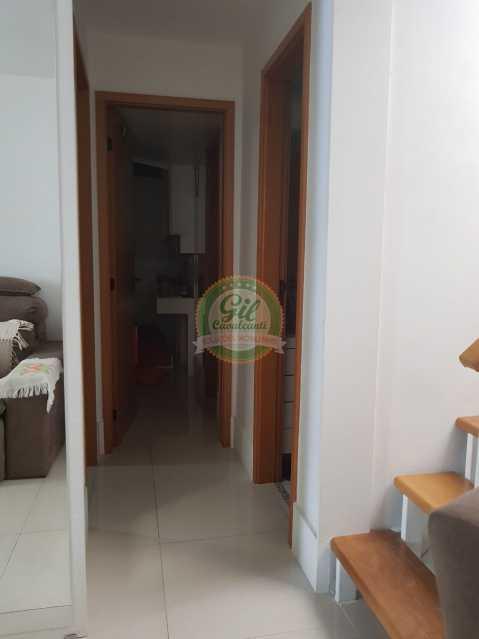 Corredor - Cobertura 2 quartos à venda Pechincha, Rio de Janeiro - R$ 535.000 - CB0177 - 10