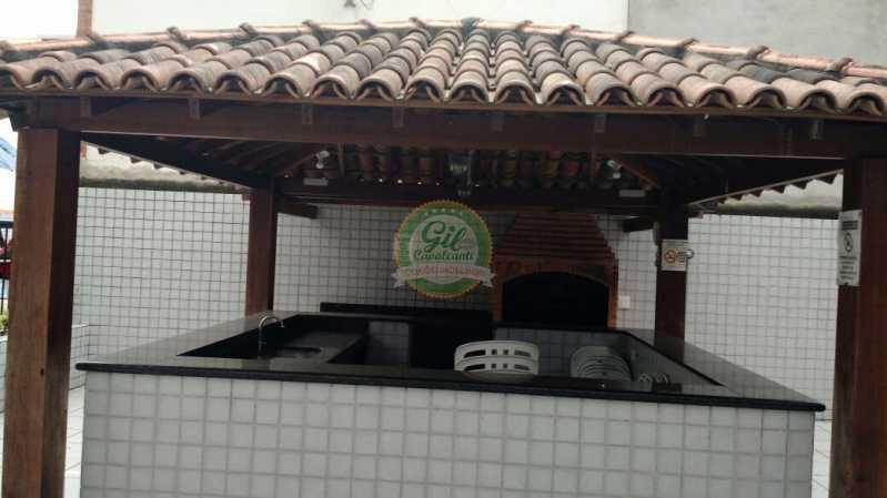 Churrasqueira - Cobertura 2 quartos à venda Pechincha, Rio de Janeiro - R$ 535.000 - CB0177 - 27