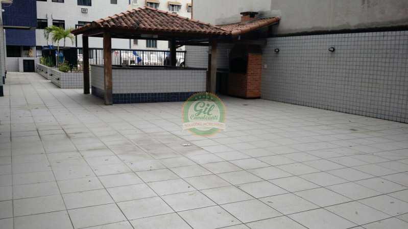 Churrasqueira - Cobertura 2 quartos à venda Pechincha, Rio de Janeiro - R$ 535.000 - CB0177 - 28
