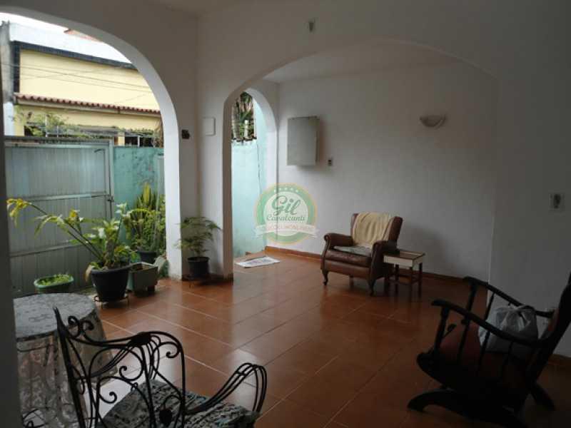 108 - Casa 3 quartos à venda Taquara, Rio de Janeiro - R$ 460.000 - CS2089 - 1