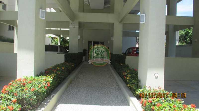 01-Entrada - Cobertura 3 quartos à venda Praça Seca, Rio de Janeiro - R$ 450.000 - CB0179 - 1