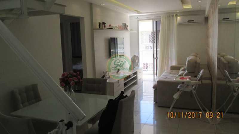 06-Sala - Cobertura 3 quartos à venda Praça Seca, Rio de Janeiro - R$ 450.000 - CB0179 - 5