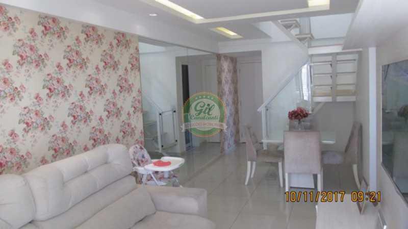 09-Sala - Cobertura 3 quartos à venda Praça Seca, Rio de Janeiro - R$ 450.000 - CB0179 - 3