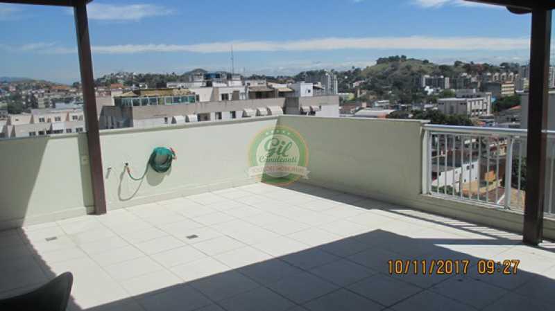 54-Terraço - Cobertura 3 quartos à venda Praça Seca, Rio de Janeiro - R$ 450.000 - CB0179 - 26