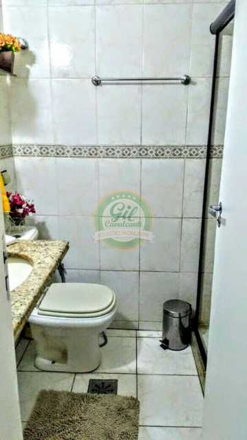 Banheiro - Apartamento Pechincha,Rio de Janeiro,RJ À Venda,3 Quartos,95m² - AP1645 - 7