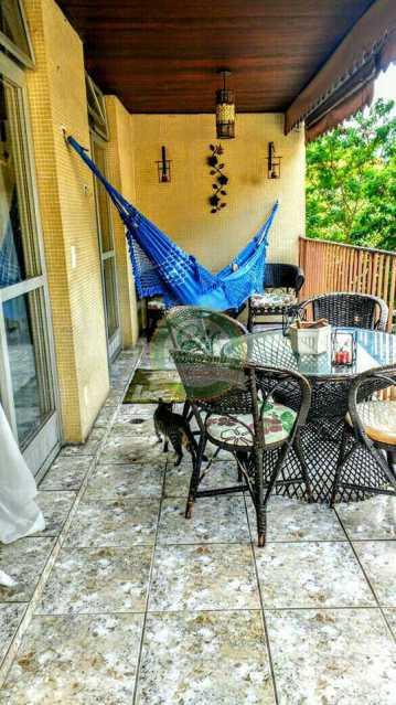 Varanda - Apartamento 3 quartos à venda Pechincha, Rio de Janeiro - R$ 430.000 - AP1645 - 3