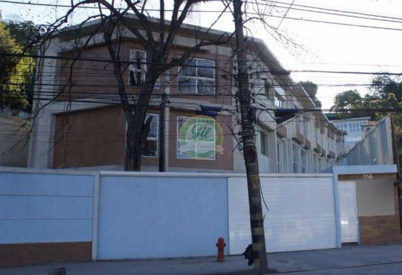 Fachada - Casa em Condominio À VENDA, Freguesia (Jacarepaguá), Rio de Janeiro, RJ - CS2116 - 1
