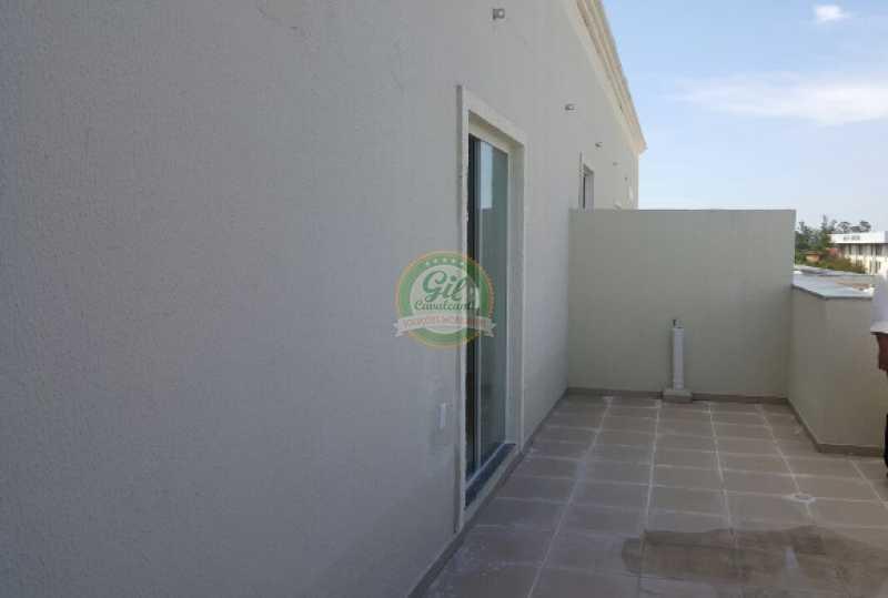 109. - Cobertura 2 quartos à venda Pechincha, Rio de Janeiro - R$ 425.000 - CB0185 - 16