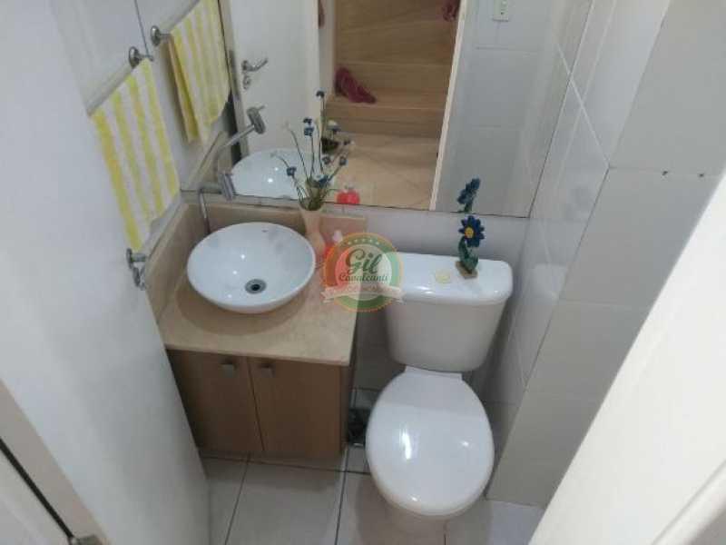 107 - Casa em Condominio Pechincha,Rio de Janeiro,RJ À Venda,2 Quartos,55m² - CS2146 - 6