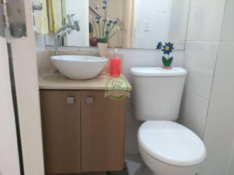 116 - Casa em Condominio Pechincha,Rio de Janeiro,RJ À Venda,2 Quartos,55m² - CS2146 - 7