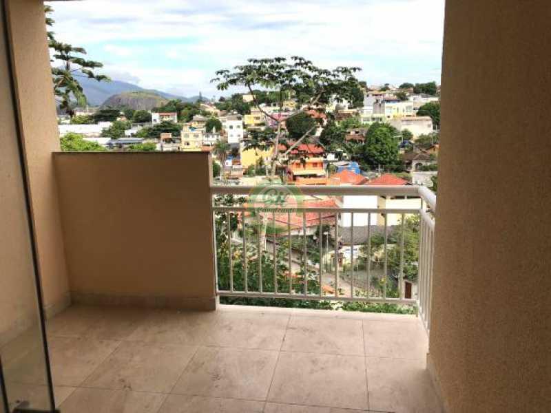 101 - Casa em Condominio Pechincha,Rio de Janeiro,RJ À Venda,3 Quartos,120m² - CS2165 - 4