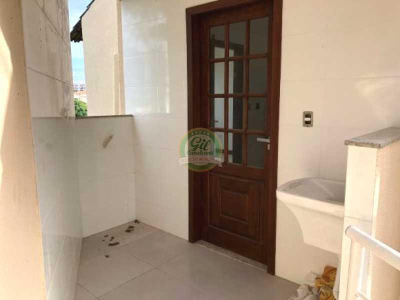 112 - Casa em Condominio Pechincha,Rio de Janeiro,RJ À Venda,3 Quartos,120m² - CS2165 - 11