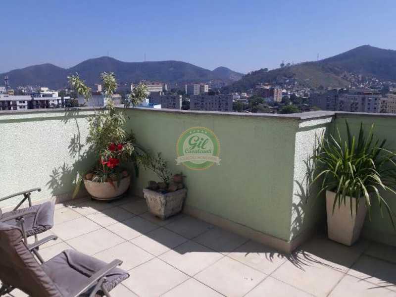 119 - Cobertura Taquara, Rio de Janeiro, RJ À Venda, 3 Quartos, 148m² - CB0188 - 16