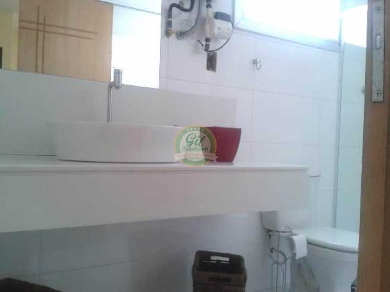 Banheiro social 2º andar - Cobertura 3 quartos à venda Taquara, Rio de Janeiro - R$ 480.000 - CB0190 - 24