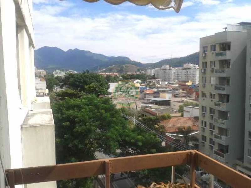 Vista livre - Cobertura Taquara,Rio de Janeiro,RJ À Venda,3 Quartos,114m² - CB0190 - 4