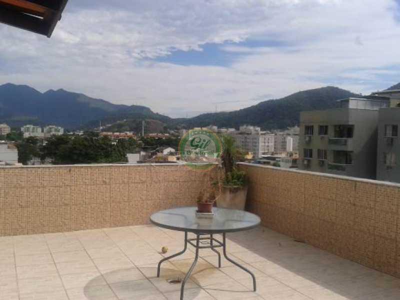 Terraço - Cobertura Taquara,Rio de Janeiro,RJ À Venda,3 Quartos,114m² - CB0190 - 27
