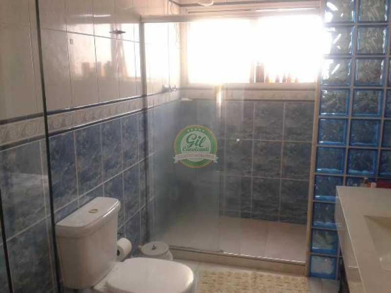 Banheiro suíte - Cobertura 3 quartos à venda Taquara, Rio de Janeiro - R$ 480.000 - CB0190 - 12