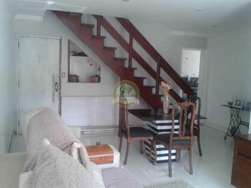 Sala principal - Cobertura 3 quartos à venda Taquara, Rio de Janeiro - R$ 480.000 - CB0190 - 6