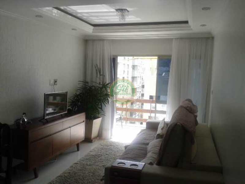 Sala principal - Cobertura 3 quartos à venda Taquara, Rio de Janeiro - R$ 480.000 - CB0190 - 1