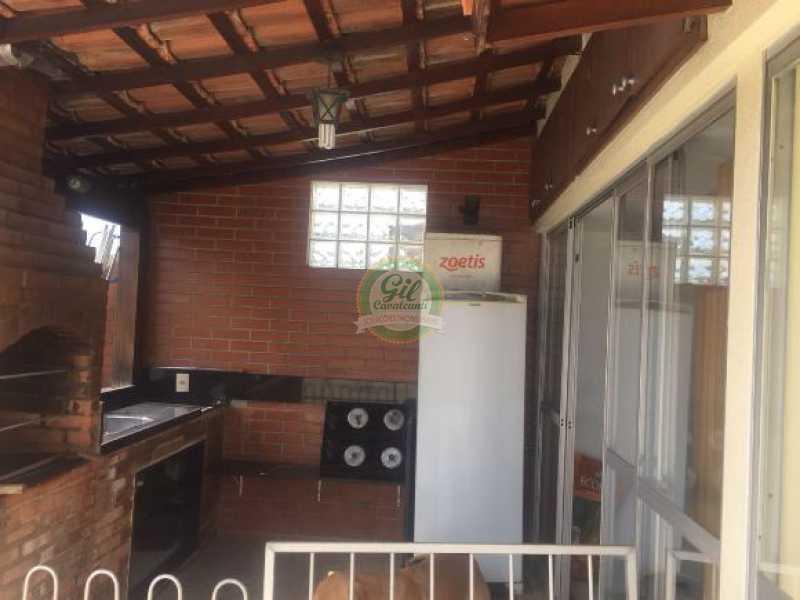 Espaço gourmet - Cobertura 3 quartos à venda Taquara, Rio de Janeiro - R$ 480.000 - CB0190 - 23