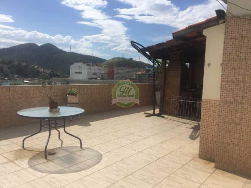 Terraço - Cobertura 3 quartos à venda Taquara, Rio de Janeiro - R$ 480.000 - CB0190 - 26