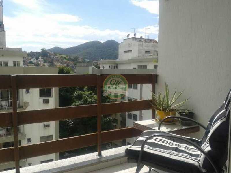 Vista livre - Cobertura Taquara,Rio de Janeiro,RJ À Venda,3 Quartos,114m² - CB0190 - 5