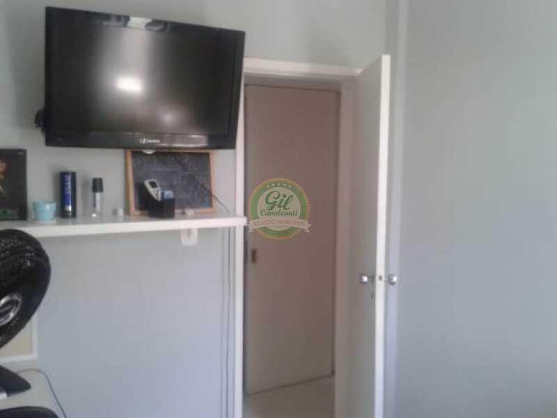 Quarto 2 - Cobertura 3 quartos à venda Taquara, Rio de Janeiro - R$ 480.000 - CB0190 - 15