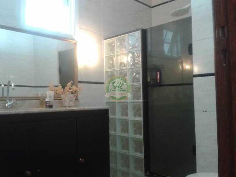 Banheiro social - Casa em Condominio Taquara,Rio de Janeiro,RJ À Venda,3 Quartos,396m² - CS2174 - 4