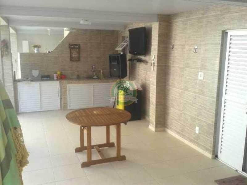 Espaço gourmet - Casa em Condominio Taquara,Rio de Janeiro,RJ À Venda,3 Quartos,396m² - CS2174 - 24