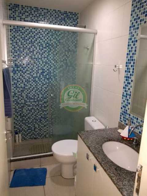 Banheiro social - Apartamento Vila Valqueire,Rio de Janeiro,RJ À Venda,3 Quartos,105m² - AP1707 - 9