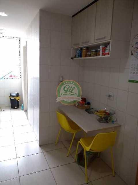 Cozinha - Apartamento Vila Valqueire,Rio de Janeiro,RJ À Venda,3 Quartos,105m² - AP1707 - 7