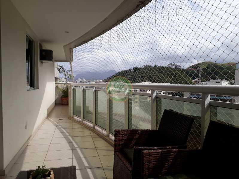 Varanda Sala  - Cobertura À VENDA, Freguesia (Jacarepaguá), Rio de Janeiro, RJ - CB0192 - 7