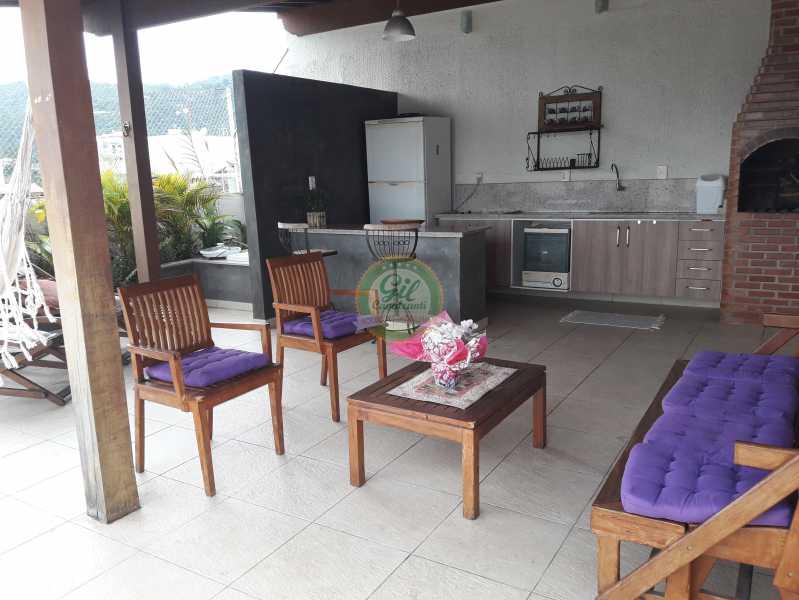 Área Gourmet  - Cobertura À VENDA, Freguesia (Jacarepaguá), Rio de Janeiro, RJ - CB0192 - 23