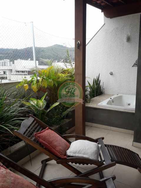 Hidro massagem  - Cobertura À VENDA, Freguesia (Jacarepaguá), Rio de Janeiro, RJ - CB0192 - 25